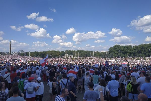 Representative image from Belarus protests 16.08.2020
