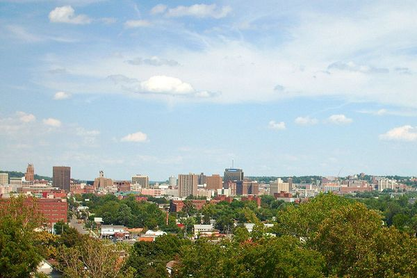 Photo of the Downtown Syracuse, New York skyline