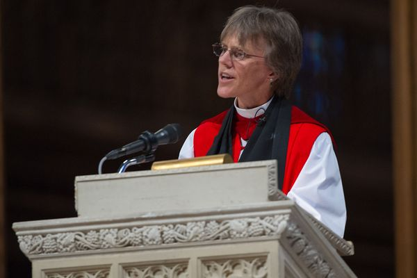 Mariann Edgar Budde at the Washington National Cathedral, on Thursday, 13 September 2012.