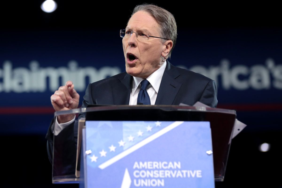 New York attorney general sues to dissolve NRA