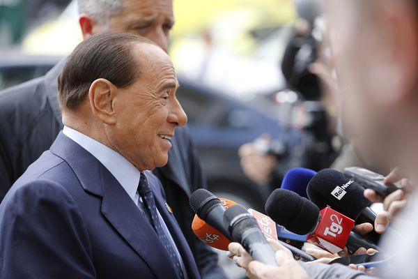 Italy's Silvio Berlusconi hospitalized with pneumonia after testing positive for the novel coronavirus.