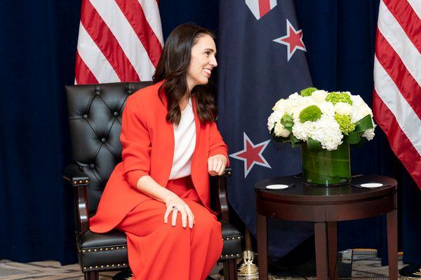 New Zealand Prime Minister Jacinda Ardern  at the InterContinental New York Barclay in New York City, September 23, 2019
