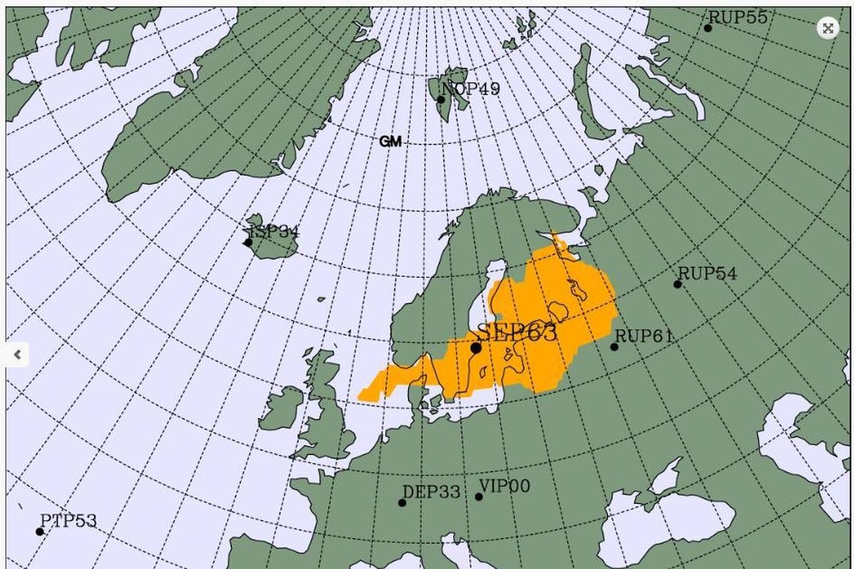 Higher-than-usual radioactivity detected near Baltic Sea, origin and source unknown