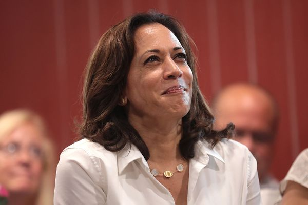 Kamala Harris accepts Democratic vice presidential nomination