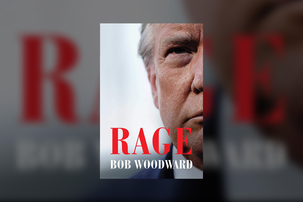 "Cover of ""Rage"" by Bob Woodward"