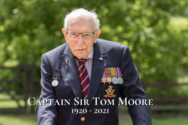 Captain Sir Tom Moore has died after contracting Covid-19