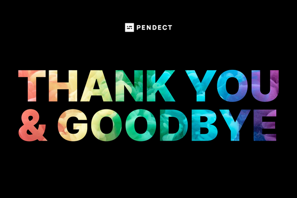 Pendect is ceasing operations on April 19th