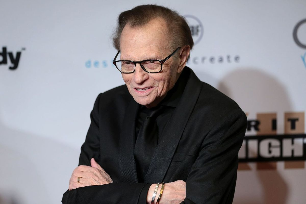 Larry King hospitalized with Covid-19 – reports
