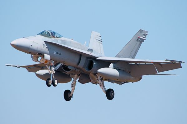 F/A-18 from the Finnish Air Force