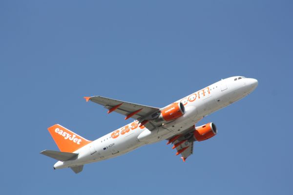 Airbus A320 of EasyJet