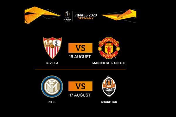UEFA Europa League semi-finals are set