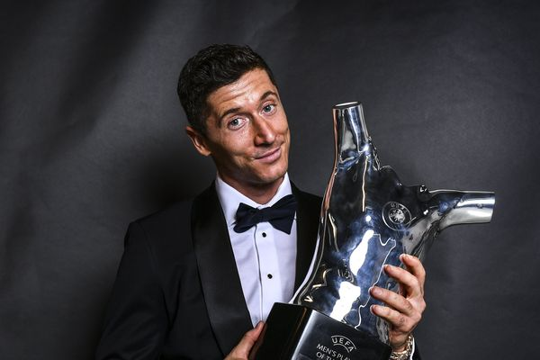 Robert Lewandowski named Europe's player of the year by UEFA