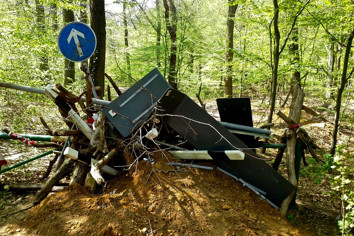 Hambacher Forst: Continued police operations