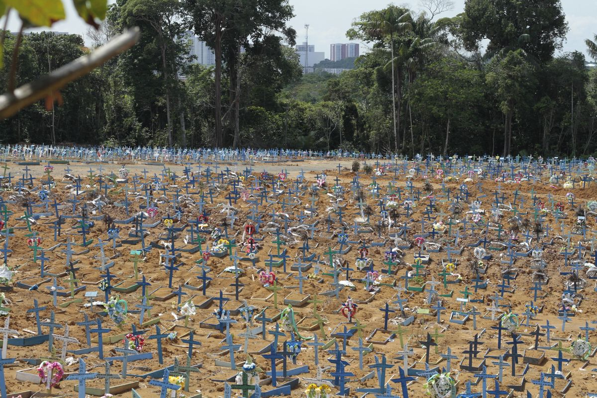 Brazil reaches 250,000 deaths as the pace of Covid-19 deaths accelerates