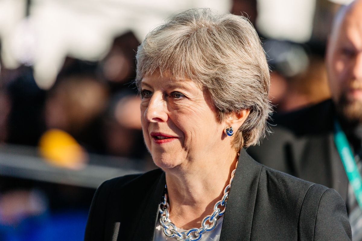 Theresa May criticises Johnson's government over Brexit bill