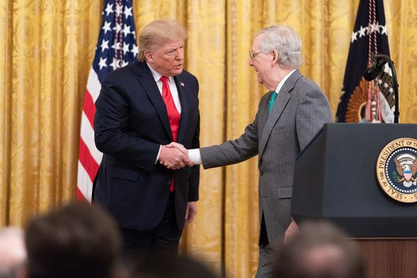 Trump and McConnell in 2019