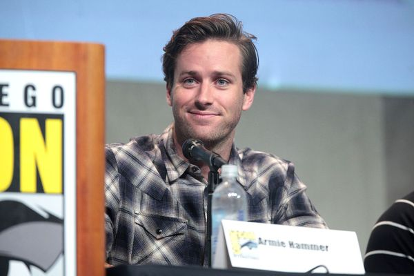 Armie Hammer at the 2015 San Diego Comic Con International