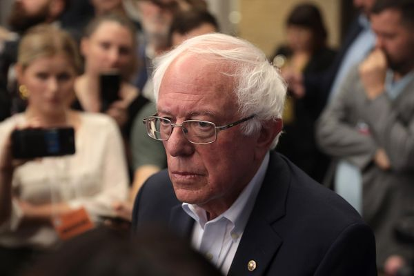 Bernie Sanders threatening a filibuster unless the Senate holds a vote on $2,000 Stimulus checks