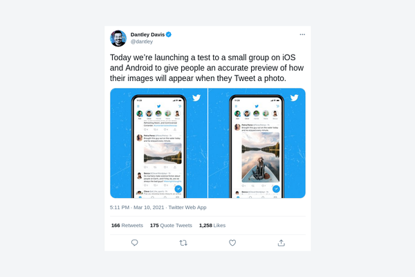Twitter is testing an improved image preview on its feeds
