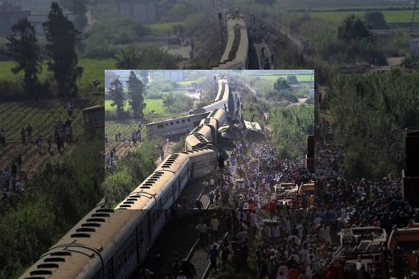 Over 30 passengers  killed in a train collision in Egypt