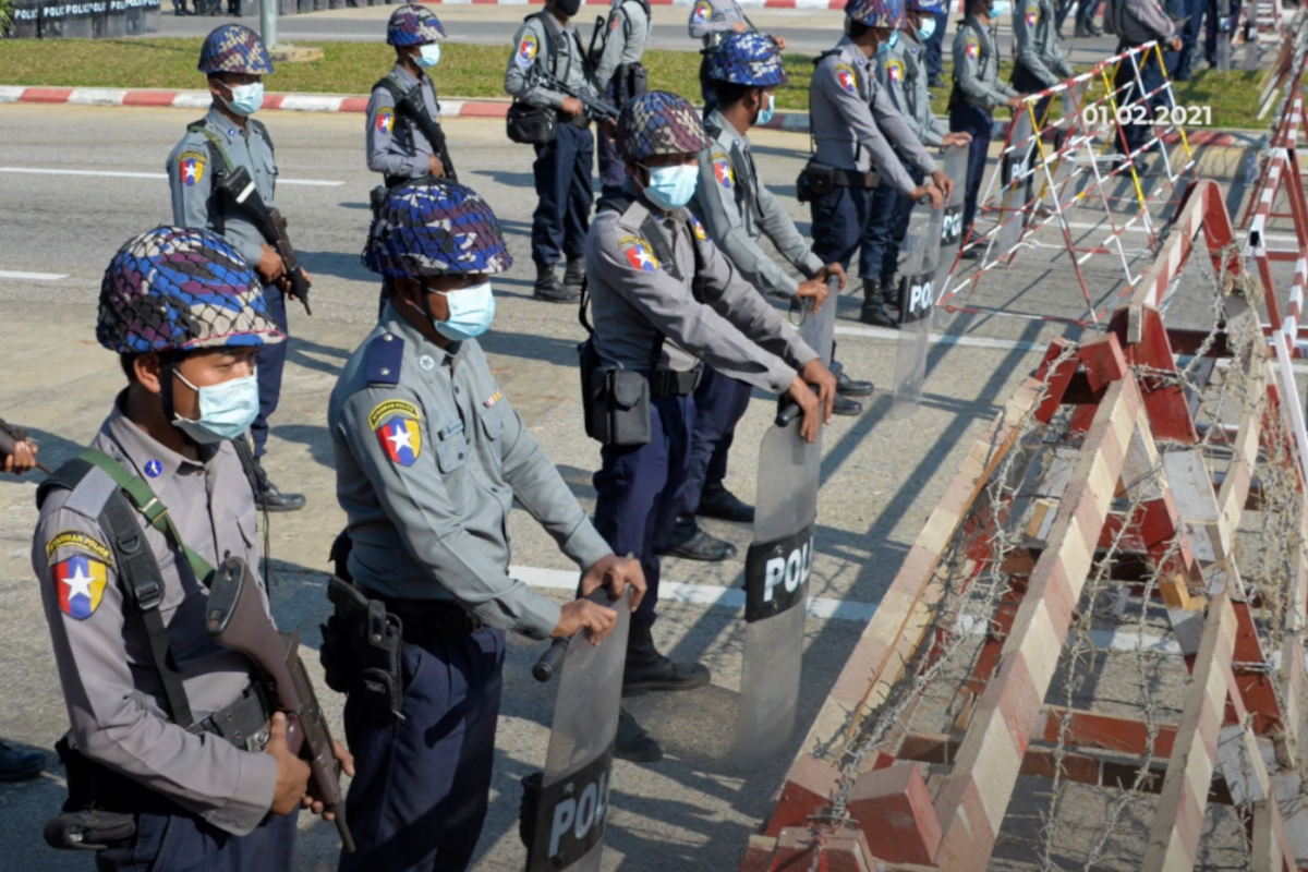 Myanmar protests: Military occupies hospitals and universities ahead of mass protests