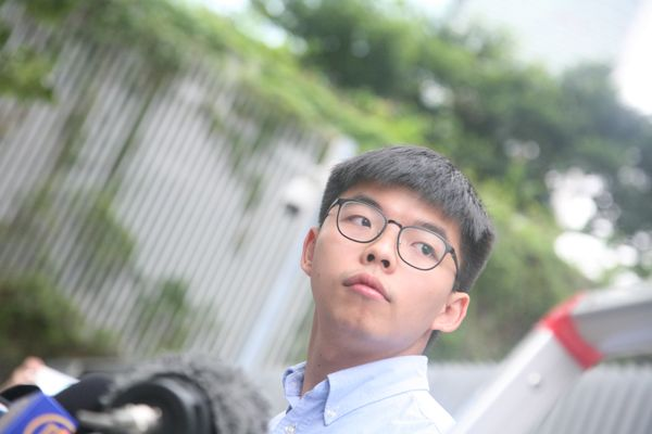 Hong Kong pro-democracy activist Joshua Wong sentenced to prison