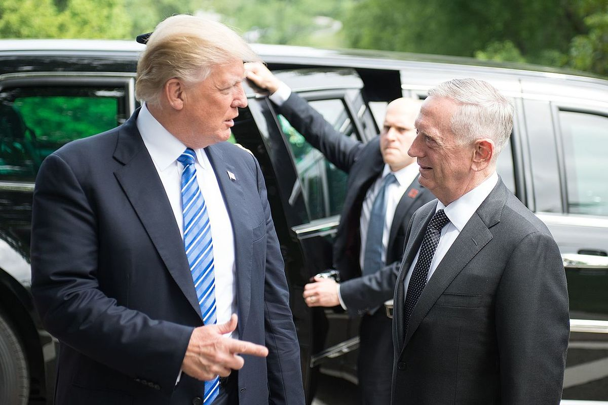 """Jim Mattis says he's """"angry and appalled"""" by Trump's action"""