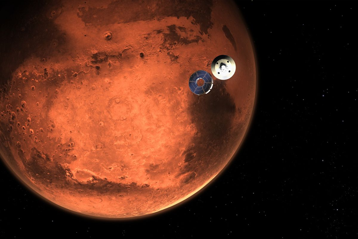"""Nasa rover """"Perseverance"""" to land on Mars - First helicopter flight on another planet"""