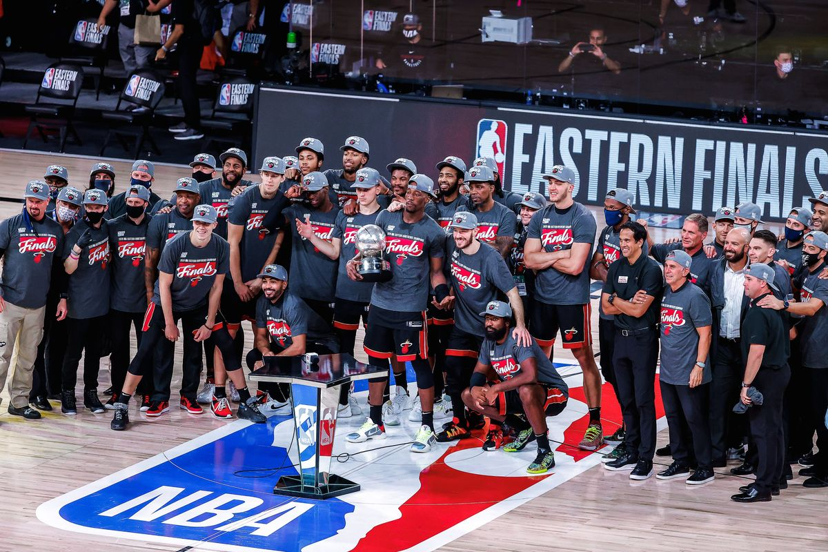 Miami Heat win the East Conference and will face the Lakers on the NBA Finals