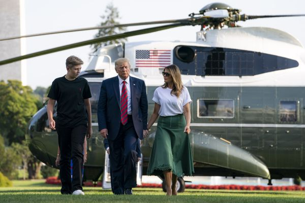 Barron Trump tested positive for Covid-19 along with President and First Lady but had no symptoms