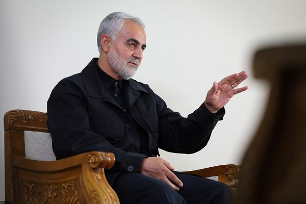 Iranian major general in the Islamic Revolutionary Guard Corps Qasem Soleimani in 2019
