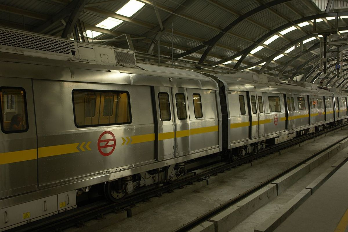 Dehli, India: Subway trains resume after 5-month-long Coronavirus shutdown