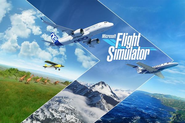 Microsoft Flight Simulator landing on August 18