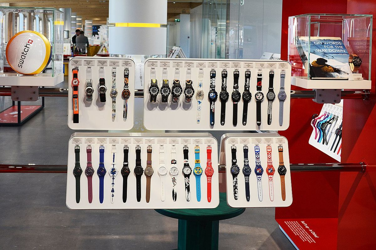 Swatch Group reports first loss in 40 years