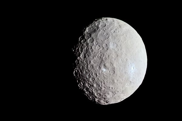 Dwarf Planet Ceres has a Salty Ocean Beneath it's Surface