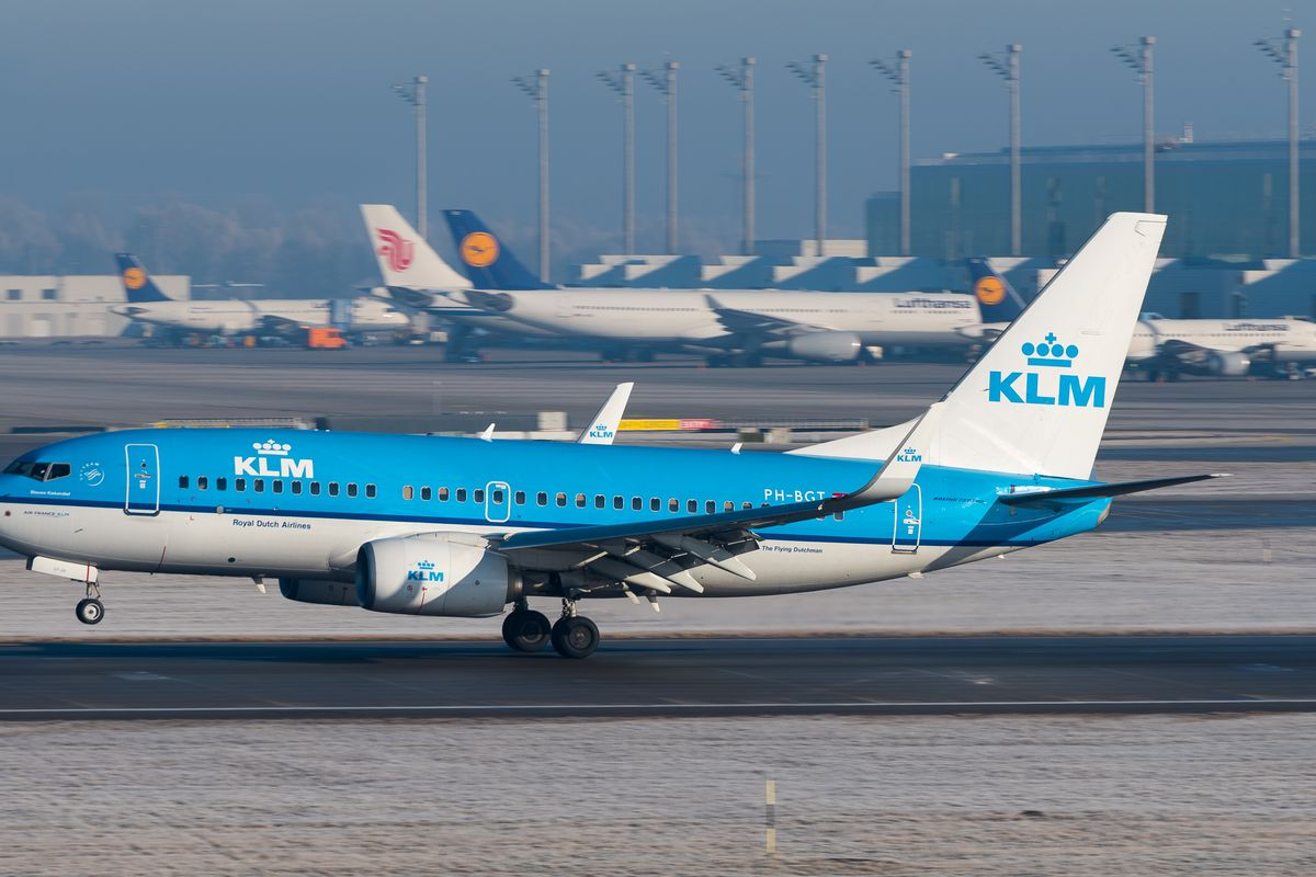 KLM flight from Bucharest to Amsterdam searched after bomb threat