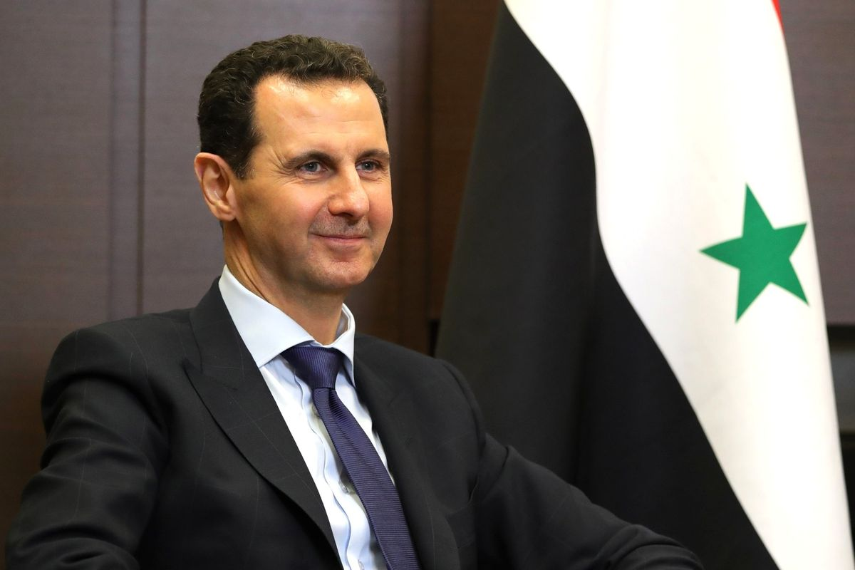 Syrian President Assad halts speech after suffering from low blood pressure