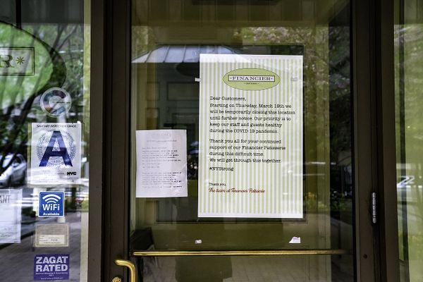 Financier Patisserie closed all its location due to mandated indoor dining shutdown
