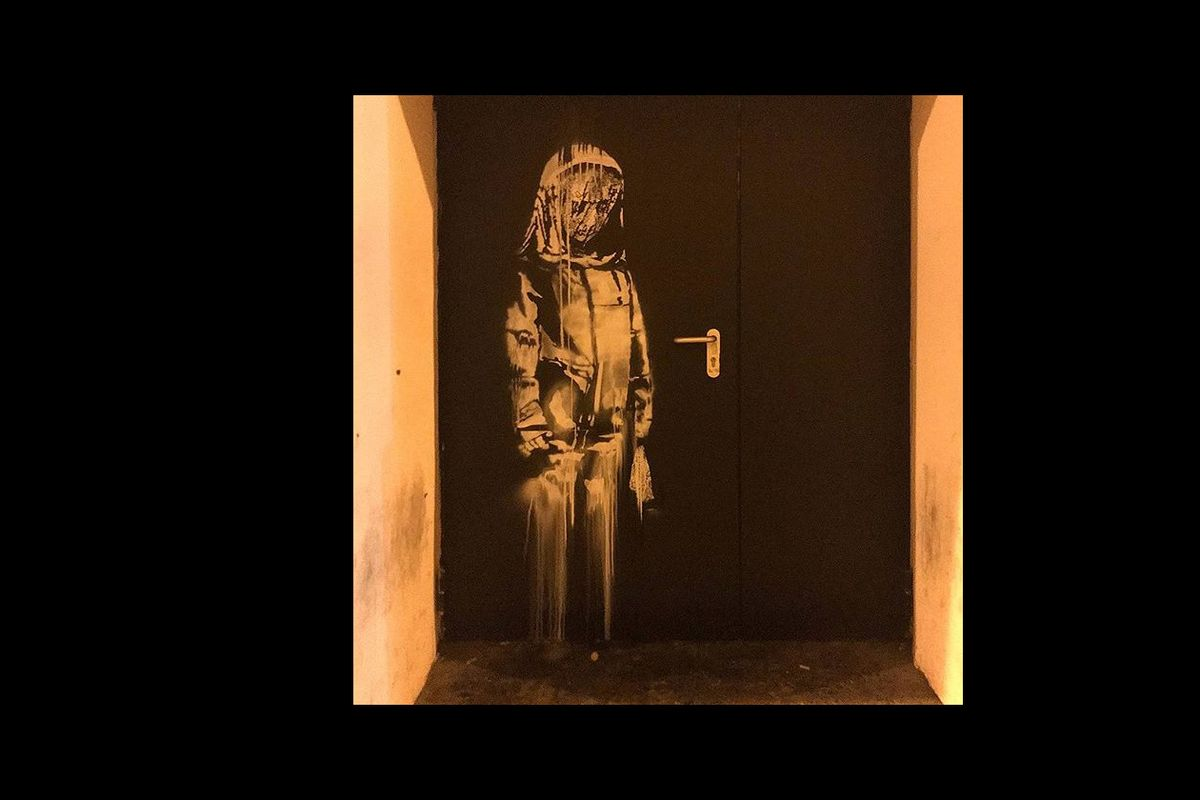 France arrests six in theft of Banksy artwork from Bataclan
