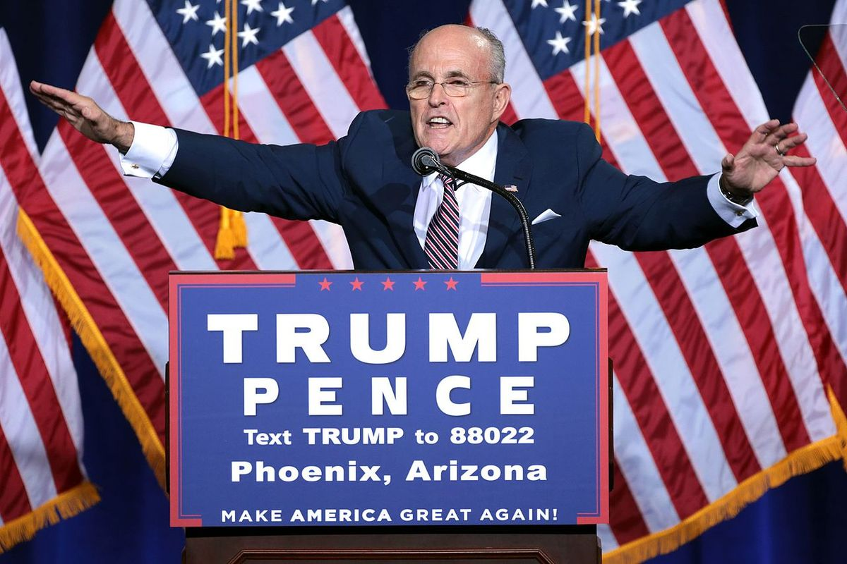 Giuliani says he can't defend Trump at impeachment trial due to him being a witness