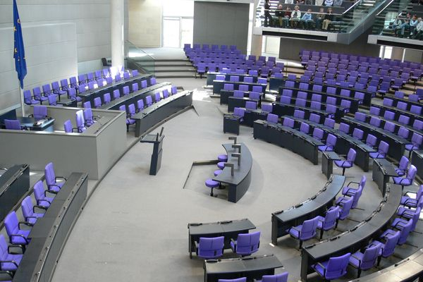 Bundestag plenar hall