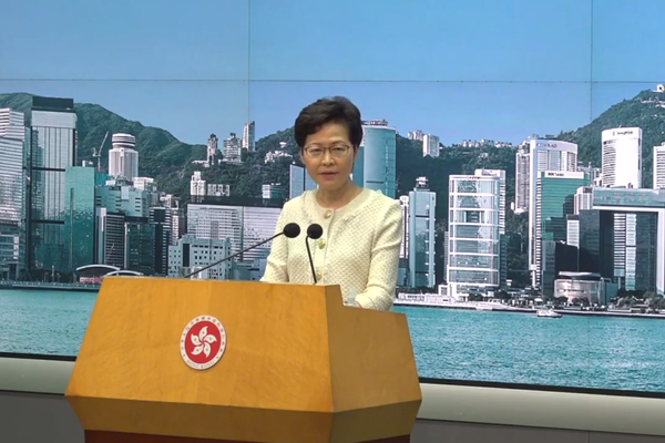 Carrie Lam says organized efforts by Democrats' to win legislative majority might be illegal under security law