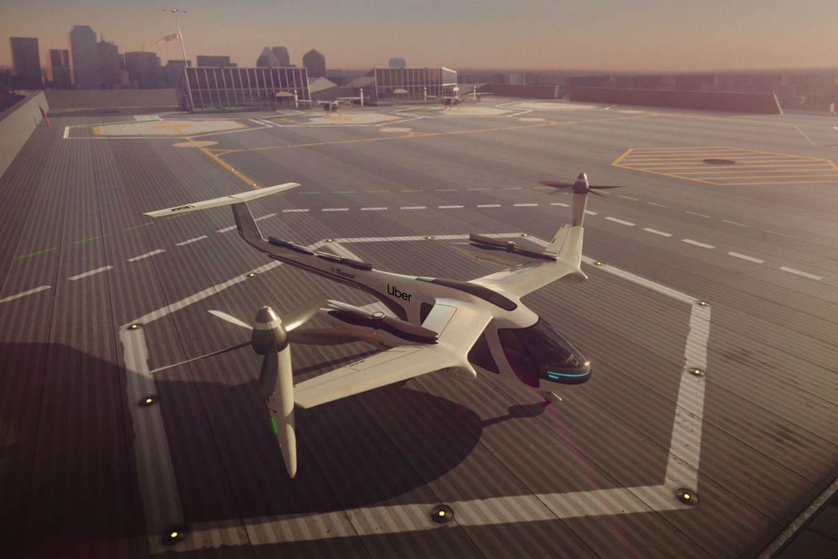 Uber has sold Uber Elevate, its air taxi business