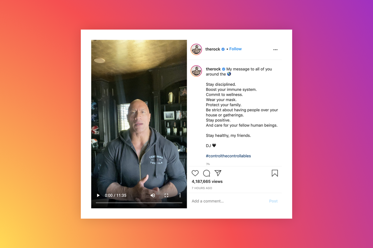 Dwayne Johnson and family test positive for Covid-19