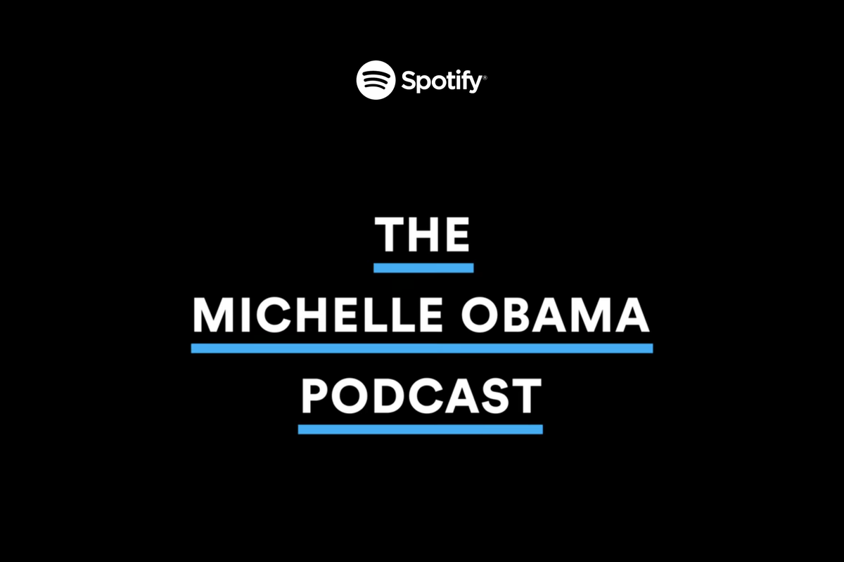 """""""The Michelle Obama Podcast"""" is coming to Spotify on July 29"""