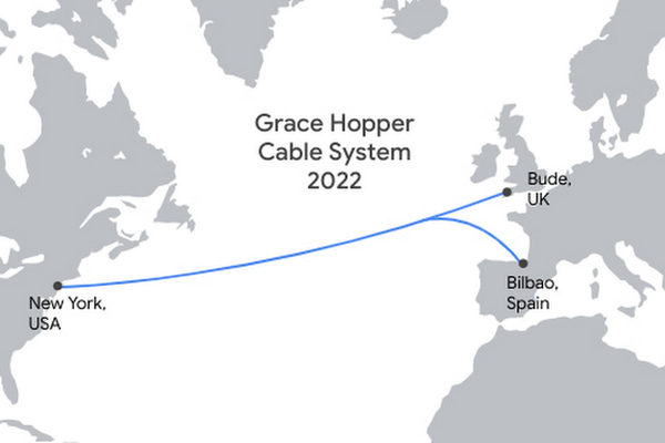 Google announces new internet subsea cable connecting United States and Europe