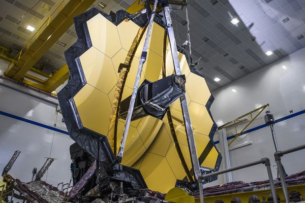 In a recent test, NASA's James Webb Space Telescope fully deployed its primary mirror into the same configuration it will have when in space.