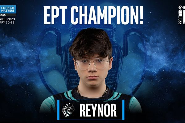 Reynor becomes the first Starcraft 2 IEM Champion from outside Korea