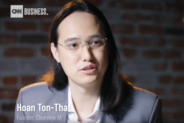Clearview AI's founder Hoan Ton-That