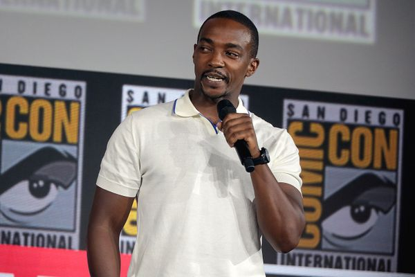 Anthony Mackie at the 2019 San Diego Comic Con